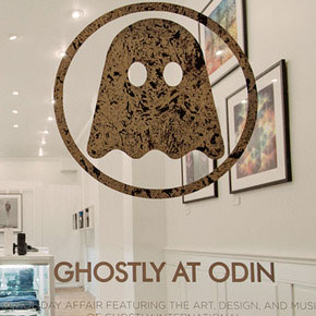 Ghostly popup at Odin NYC