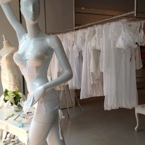 Kleinfeld Bridal pop-up shop at Cosabella NYC